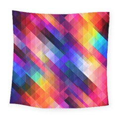 Abstract Background Colorful Square Tapestry (large) by Alisyart