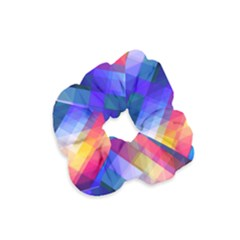 Abstract Background Colorful Velvet Scrunchie by Alisyart