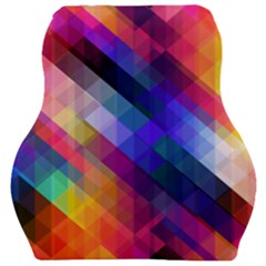Abstract Background Colorful Car Seat Velour Cushion  by Alisyart