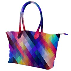 Abstract Background Colorful Canvas Shoulder Bag by Alisyart