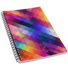 Abstract Background Colorful 5 5  X 8 5  Notebook by Alisyart