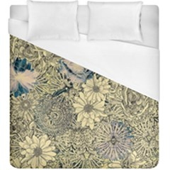 Abstract Art Botanical Duvet Cover (king Size)