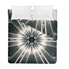 Abstract Fractal Space Duvet Cover Double Side (full/ Double Size) by Alisyart