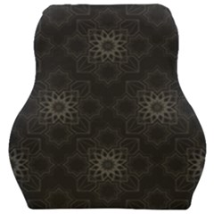 Background Star Pattern Car Seat Velour Cushion  by Alisyart