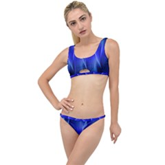 Audio Sound Soundwaves Art Blue The Little Details Bikini Set