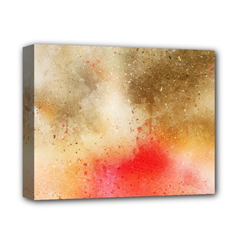 Abstract Space Watercolor Deluxe Canvas 14  X 11  (stretched)