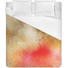 Abstract Space Watercolor Duvet Cover (california King Size) by Alisyart