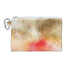 Abstract Space Watercolor Canvas Cosmetic Bag (large) by Alisyart