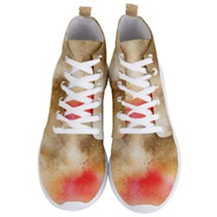 Abstract Space Watercolor Men s Lightweight High Top Sneakers