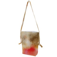 Abstract Space Watercolor Folding Shoulder Bag