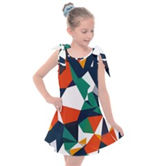 33sahara246 Kids  Tie Up Tunic Dress
