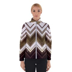 Chevron Triangle Winter Jacket by Alisyart