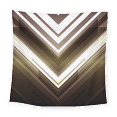 Chevron Triangle Square Tapestry (large)