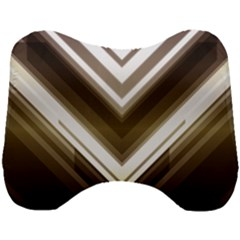 Chevron Triangle Head Support Cushion