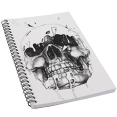 Black Skull 5 5  X 8 5  Notebook by Alisyart