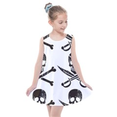 Bone Skull Kids  Summer Dress by Alisyart