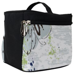 Butterfly Flower Make Up Travel Bag (big) by Alisyart