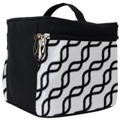 Diagonal Stripe Pattern Make Up Travel Bag (big)