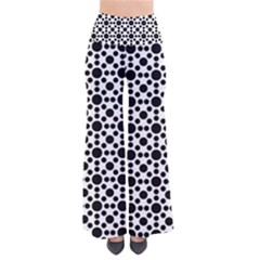 Dot Circle Black So Vintage Palazzo Pants by Alisyart
