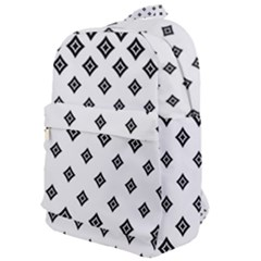 Concentric Halftone Wallpaper Classic Backpack by Alisyart