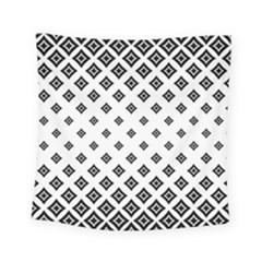 Concentric Halftone Wallpaper Square Tapestry (small) by Alisyart