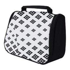 Concentric Halftone Wallpaper Full Print Travel Pouch (small)