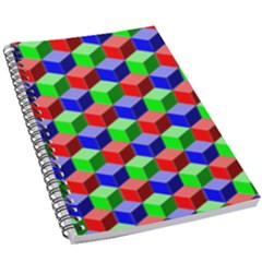 Colorful Prismatic Rainbow 5 5  X 8 5  Notebook by Alisyart