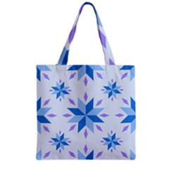 Dutch Star Snowflake Holland Grocery Tote Bag by Alisyart