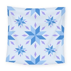 Dutch Star Snowflake Holland Square Tapestry (large)