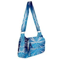 Color Blue Background Structure Post Office Delivery Bag