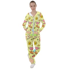 Cute Sketch Child Graphic Funny Women s Tracksuit