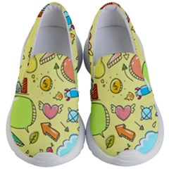 Cute Sketch Child Graphic Funny Kids  Lightweight Slip Ons by Alisyart