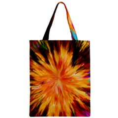 Color Background Structure Lines Rainbow Paint Classic Tote Bag