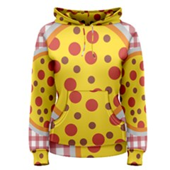 Pizza Table Pepperoni Sausage Women s Pullover Hoodie