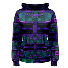 Abstract Pattern Desktop Wallpaper Women s Pullover Hoodie