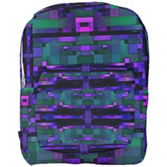 Abstract Pattern Desktop Wallpaper Full Print Backpack