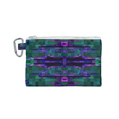 Abstract Pattern Desktop Wallpaper Canvas Cosmetic Bag (small)