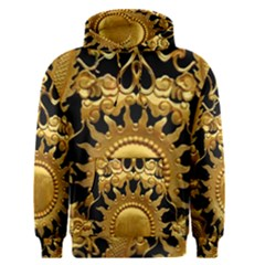Golden Sun Gold Decoration Wall Men s Pullover Hoodie