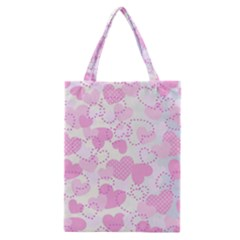 Valentine Background Hearts Bokeh Classic Tote Bag
