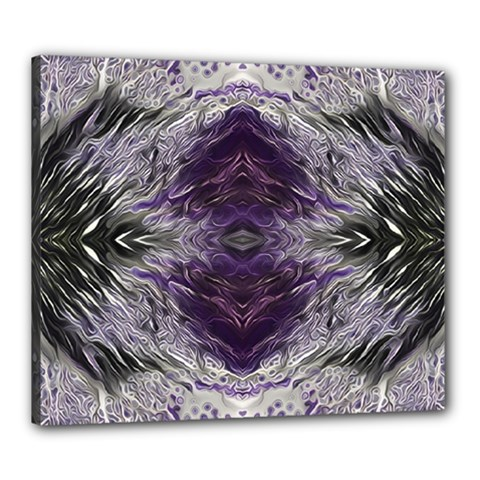 Pattern Abstract Horizontal Canvas 24  X 20  (stretched)