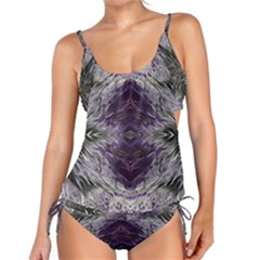Pattern Abstract Horizontal Tankini Set