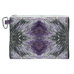 Pattern Abstract Horizontal Canvas Cosmetic Bag (xl)