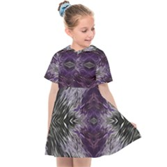 Pattern Abstract Horizontal Kids  Sailor Dress by Pakrebo