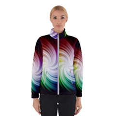 Rainbow Swirl Twirl Winter Jacket