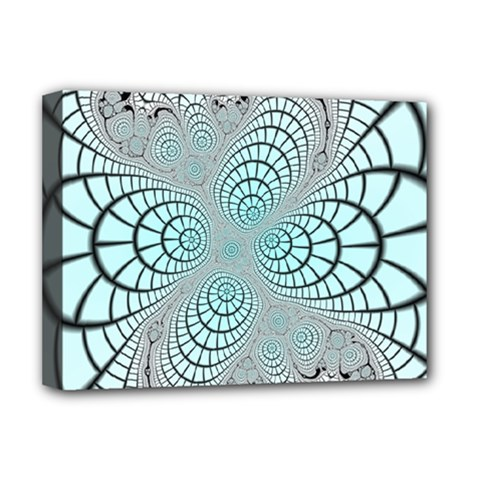 Digital Art Fractal Abstract Deluxe Canvas 16  X 12  (stretched)  by Pakrebo
