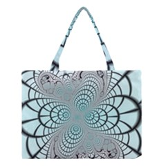 Digital Art Fractal Abstract Medium Tote Bag