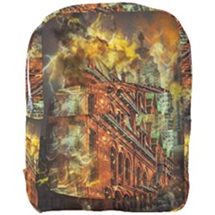 Flat Iron Building Architecture Full Print Backpack