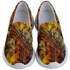 Flat Iron Building Architecture Kids  Lightweight Slip Ons