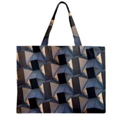 Pattern Texture Form Background Zipper Mini Tote Bag
