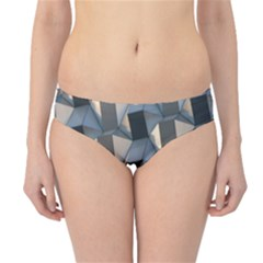 Pattern Texture Form Background Hipster Bikini Bottoms